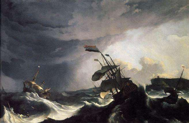 ships-in-distress-in-a-raging-storm-artwork-photo-1