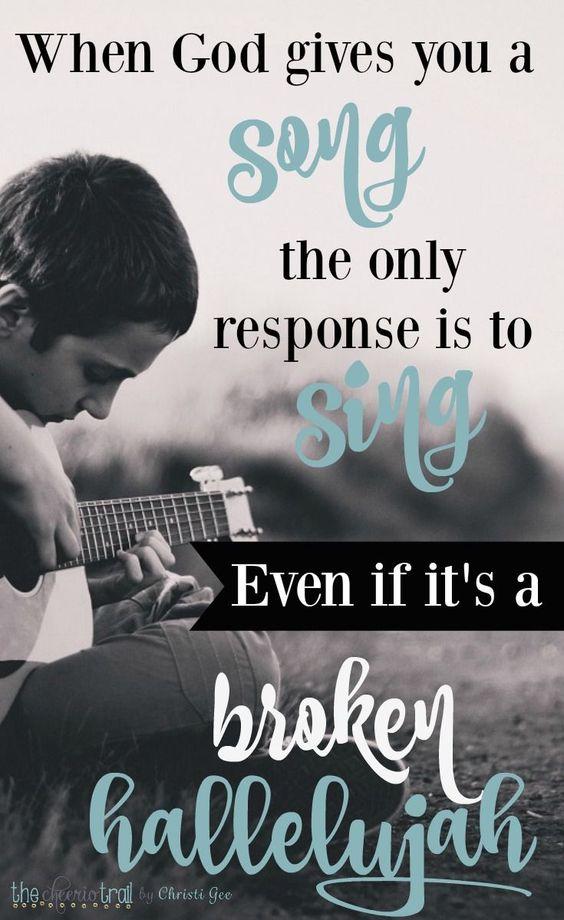 broken halleluja